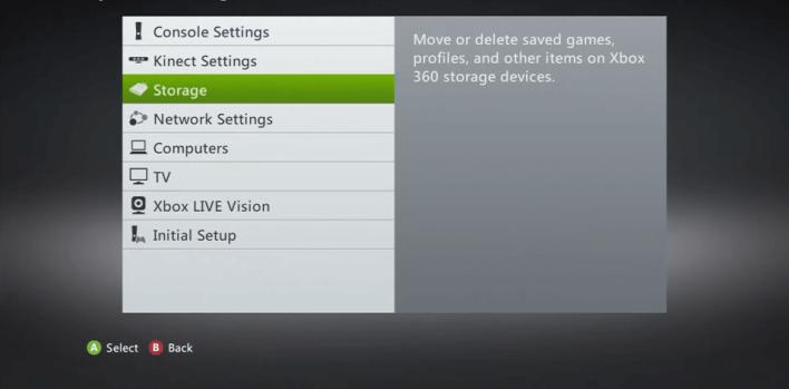 Select Storage