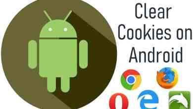 Clear Cookies on Android
