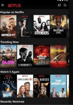Click on Cast icon-How to Watch Netflix using VPN on Chromecast