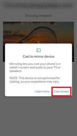 How to Chromecast Skype Calls on TV-7