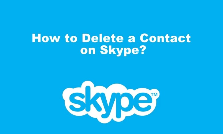 How to Delete a Contact on Skype