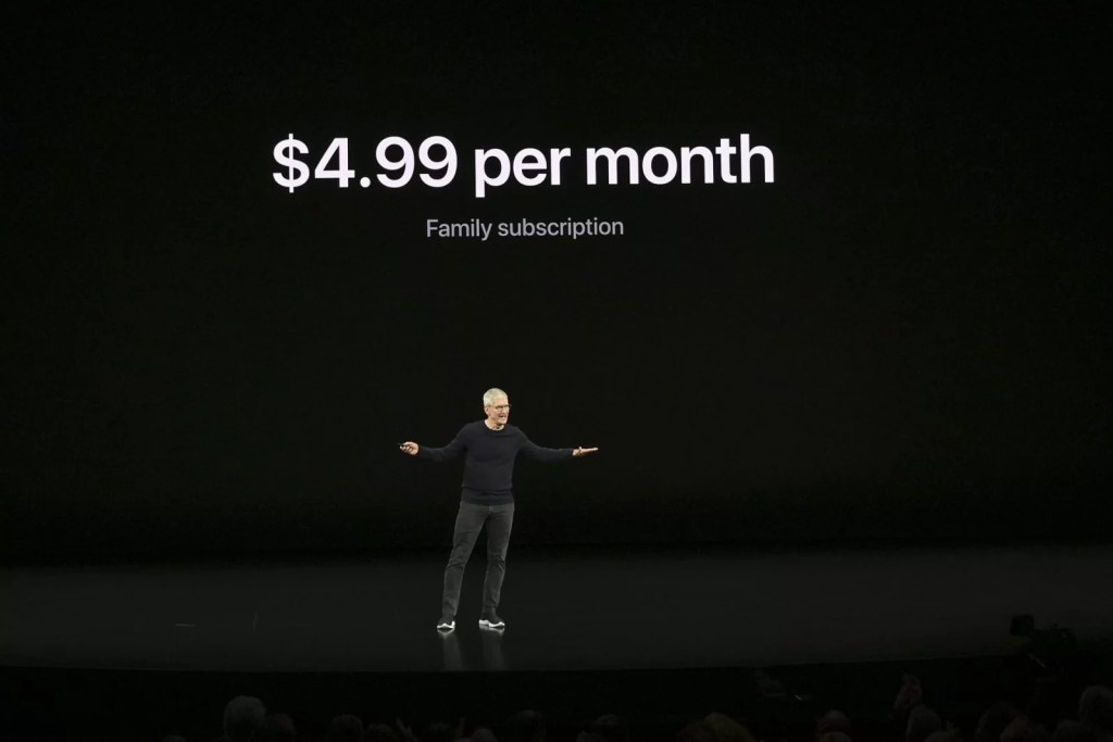 Apple TV plans and pricing