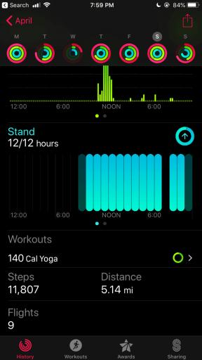 Pedometer on Apple Watch