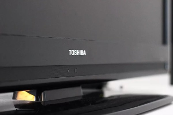 Press Power button-How to Turn on Toshiba TV without Remote