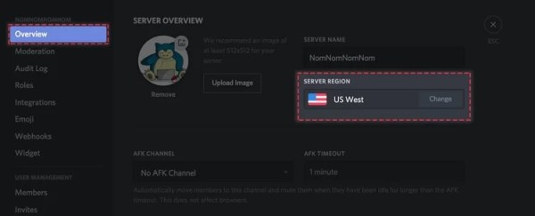 Select Overview-Discord Awaiting Endpoint