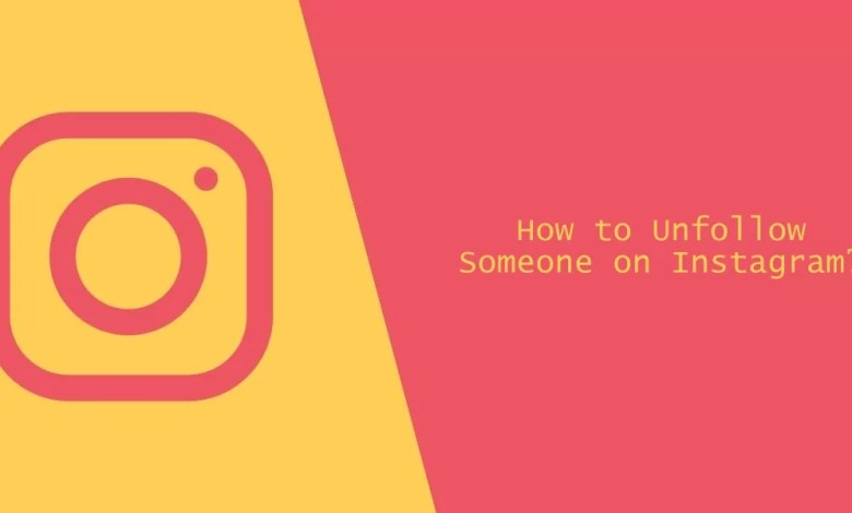 Unfollow someone on Instagram