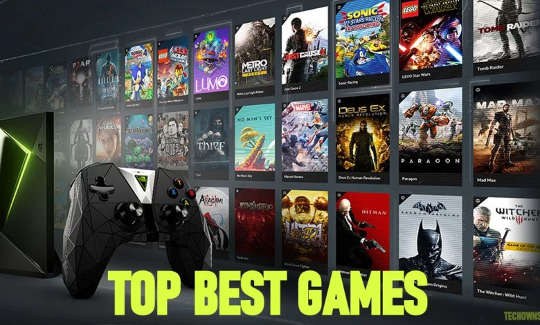 games for nvidia shield
