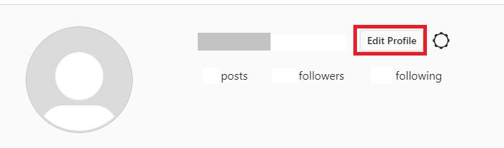 Click Edit Profile