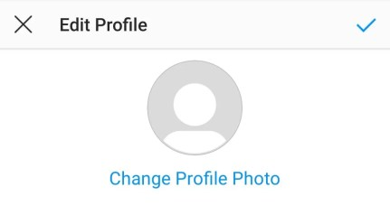 Change Profile Picture on Instagram