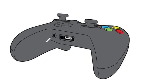 Connect headphones to Xbox One