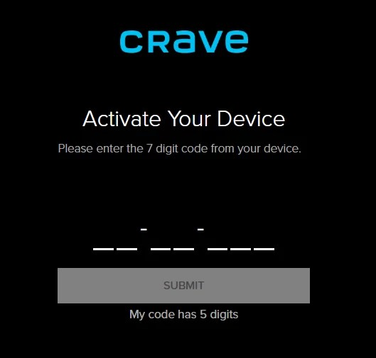 Crave on Apple TV