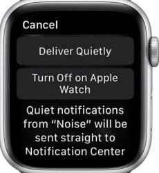 Customize Notification