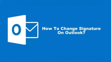 How To Change Signature On Outlook