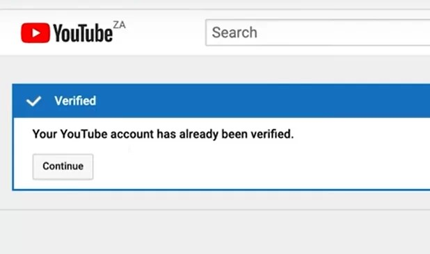 verified - How To Verify Your YouTube Account