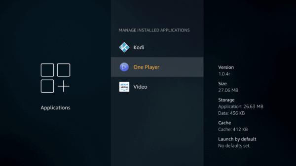 Select an App