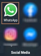 Open Whats app