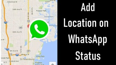 Add Location on WhatsApp Status