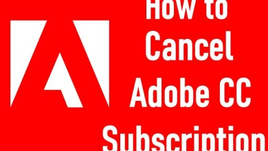 Cancel Adobe Subscription