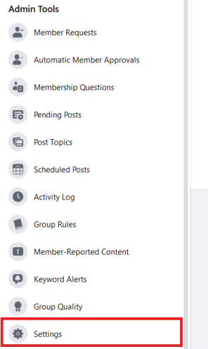 Change Facebook Group Name on Computer