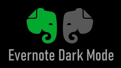 Evernote Dark Mode