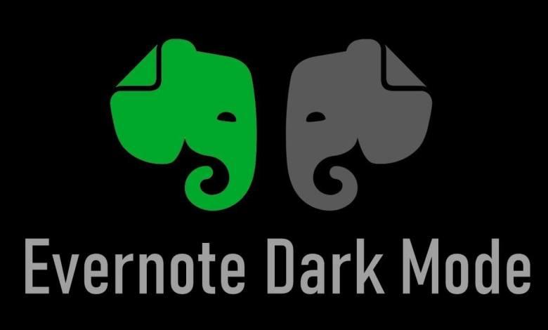 Evernote Dark Mode