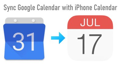 Google Calendar with iPhone