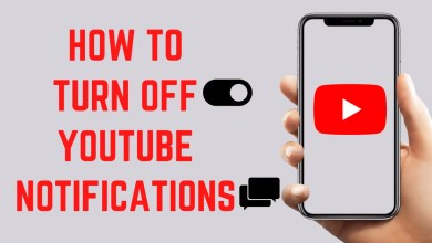 Turn Off YouTube Notifications