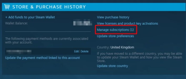 manage subscriptions - How To Cancel Eso Plus On Steam