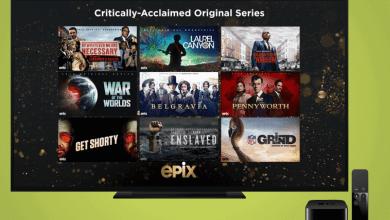 Epix on Apple TV