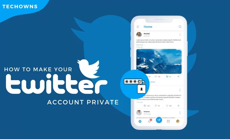 How to Make Your Twitter Account Private