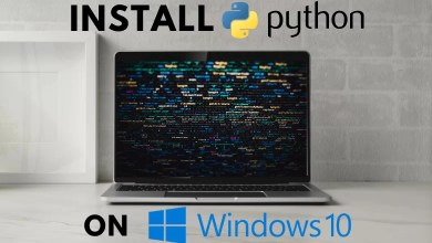 How to Install Python on Windows 10