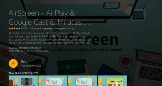 Install AirScreen