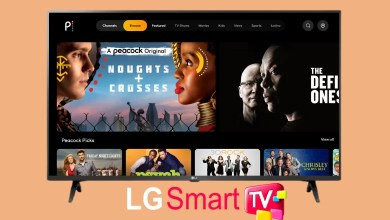 Peacock TV on LG Smart TV