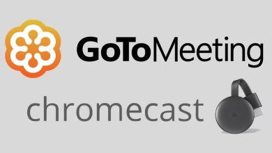 Chromecast GoToMeeting