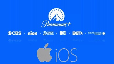 Paramount Plus on iPhone