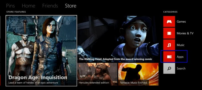 Select Apps in Xbox One - Vudu on Xbox One
