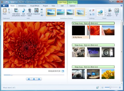 Windows Live Movie Maker - Tech Panorma