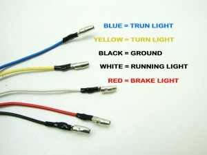Integrated LED TailLight Turn Signals Ducati Monster