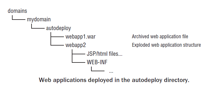 WebApplication in Autodeploy Directory