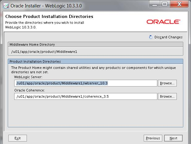 Product Installation Directories