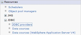 Creating DataSource WebSphere