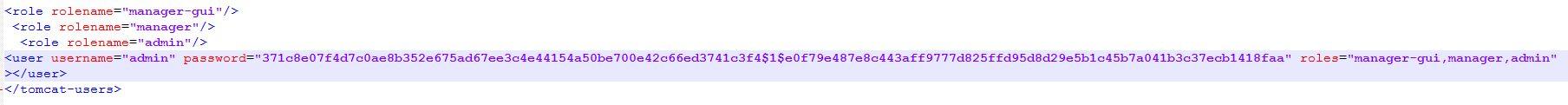 tomcat users xml file