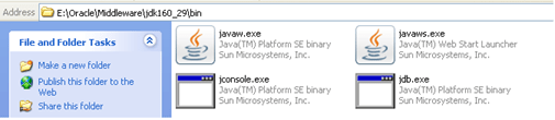 javaw.exe file location