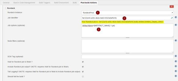 Integrating Jenkins With Rundeck