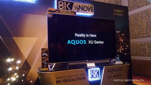 Sharp Aquos 8K TV First ever 8K TV by Sharp   The companys future 8K ecosystem is full of amazing technologies