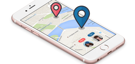 Google Maps - Ping a Cellphone to Find the Location
