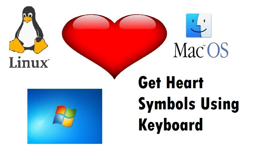 How to Type a Heart Symbol [Emojis] With Keyboard