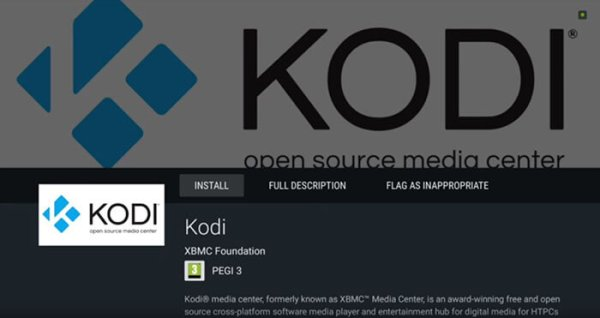 Install Kodi on NVIDIA Shield