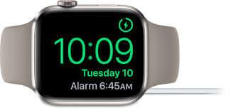 Nightstand mode on Apple Watch