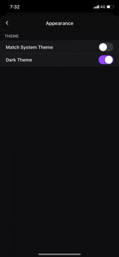 Twitch Dark Mode